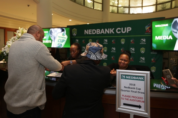 Football - 2018 Nedbank Cup - Quarterfinal - Draw - The Clocktower