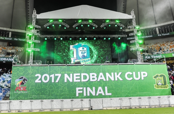 Football - 2017 Nedbank Cup - Final - Supersport United v Orlando Pirates - Moses Mabhida Stadium